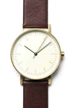 【予約受付中 / Stock Watches】 S002G - WINE [36.3mm]