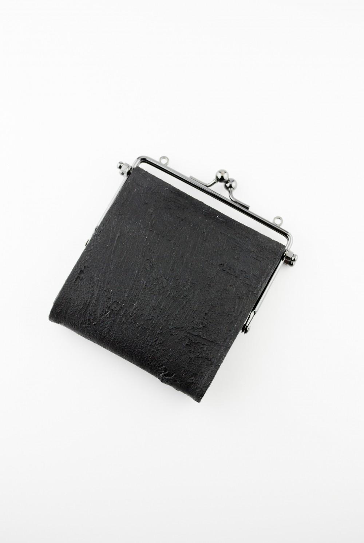 【お取り寄せ可能】何かのパーツ小銭入れ [黒い壁] / mw04-bk
