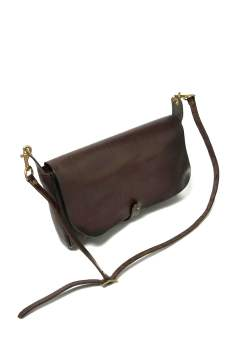 【18SS】レザー3WAYクラッチバッグ [ブラウン] / LEATHER 3WAY CLUTCH BAG [BROWN]
