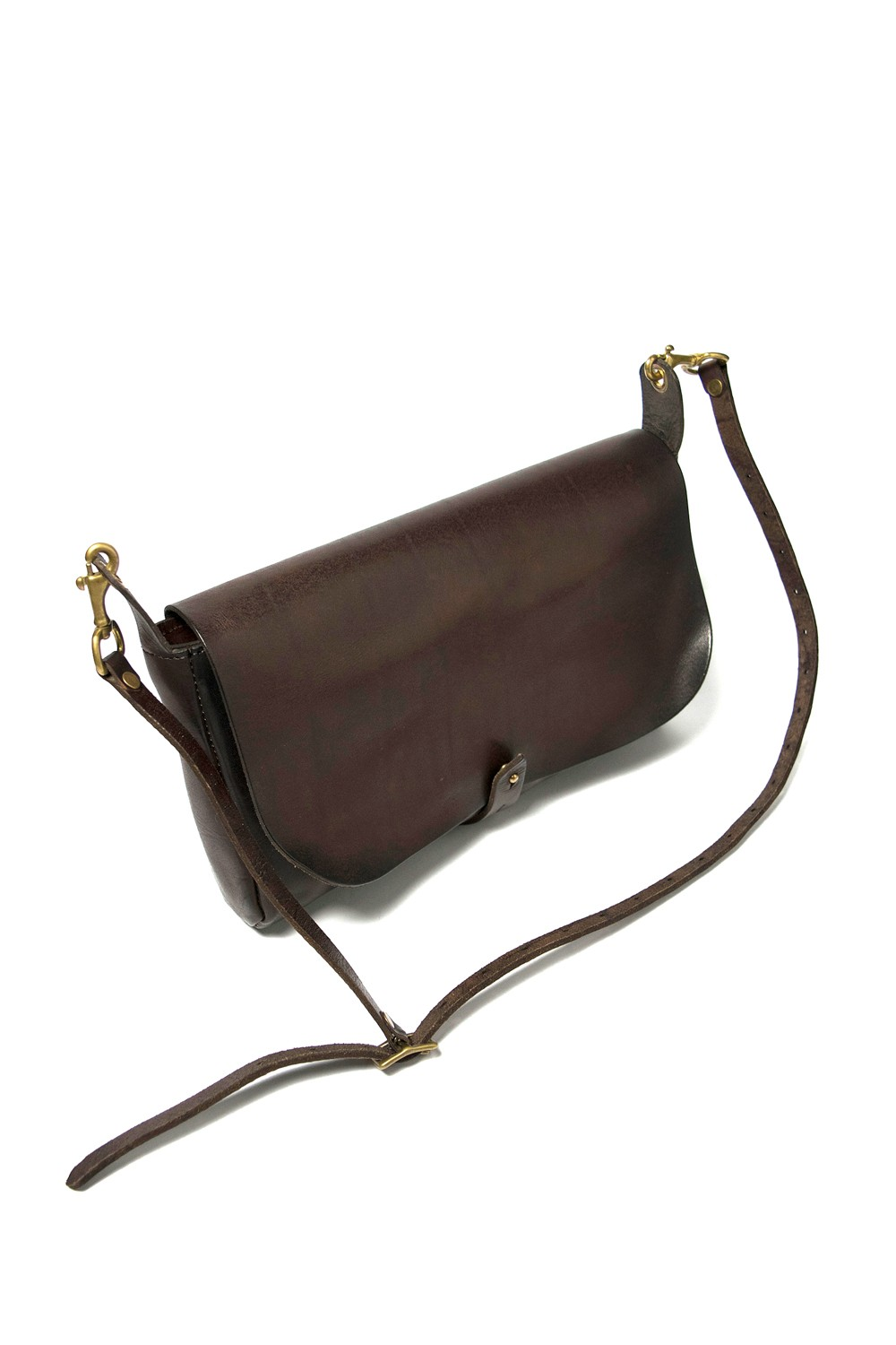 【20SS】レザー3WAYクラッチバッグ [ブラウン] / LEATHER 3WAY CLUTCH BAG [BROWN]