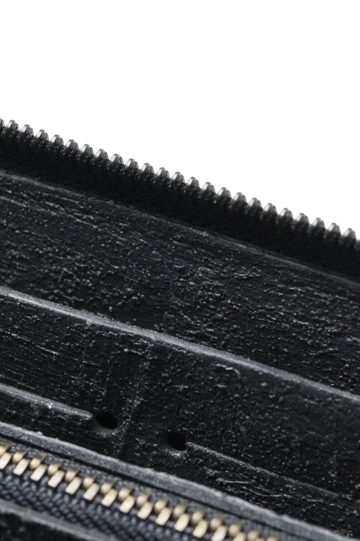 【お取り寄せ可能】長財布・ラウンドジップ [ 黒い壁 ] / mw09-bk