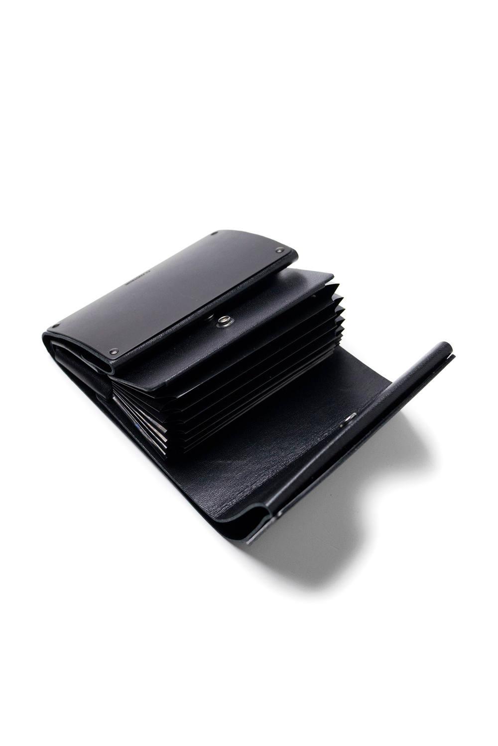 ARTICULAR WALLET [BLACK MATTE] / アーティキュラーウォレット [ブラックマット] | 二つ折り財布
