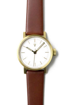 【VOID WATCHES】V03P - LIGHT BROWN [28mm]