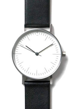 【予約受付中 / Stock Watches】S001C - BLACK [36.3mm]
