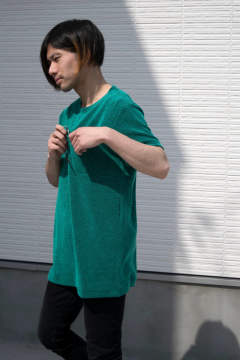 【18SS】Moss T [GREEN] - 苔T [グリーン] / TO02