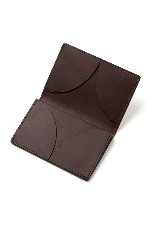 【19SS】STARRY + - Card case [BROWN] / スターリー プラス - 七宝カードケース [ブラウン]