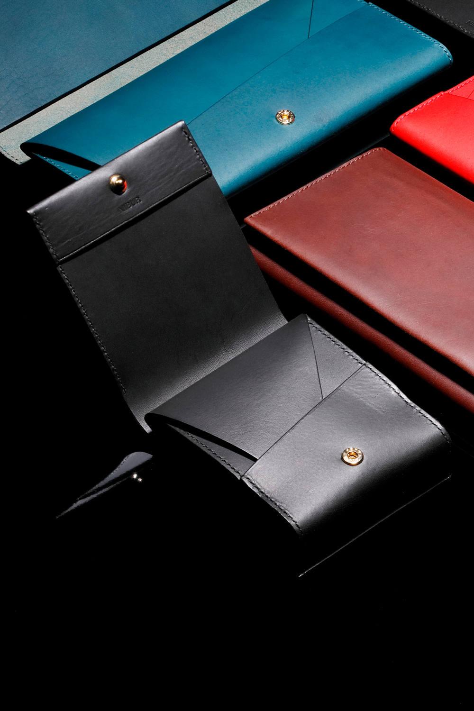 【19SS】LERAY BF - Short wallet [BLACK] / ルレイビーエフ - 二つ折り財布 [ブラック]