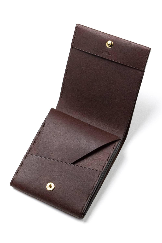 【19SS】LERAY BF - Short wallet [BROWN] / ルレイビーエフ - 二つ折り財布 [ブラウン]