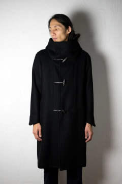 【18AW】Toggle Calm Coat [BLACK] - 寛トグル [ブラック] / OU04
