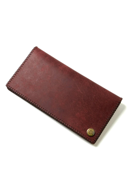 長財布 (コインなし) [レッド] / Long Wallet I [RED]