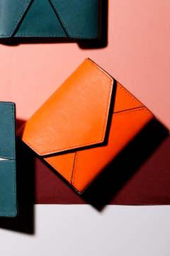 the latest 48a66 fd9d5 【18AW】ENVY TF - Mini wallet [ORANGE] / エンヴィー ティーエフ - ミニ財布 [オレンジ]