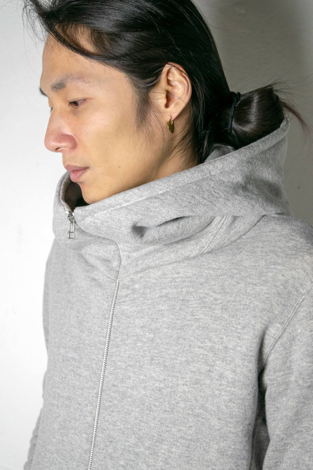 【定番】I Parka LP [GREY] - IパーカーLP [グレー] / SS20HO01