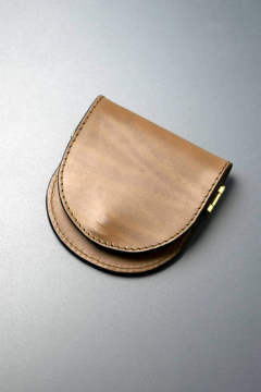 【18AW】レザーボヤージュコインケース [オリーブ] / LEATHER VOYAGE COINCASE [VERDE]