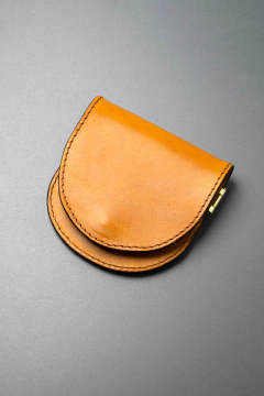 【18AW】レザーボヤージュコインケース [ライトキャメル] / LEATHER VOYAGE COINCASE [MEAL]