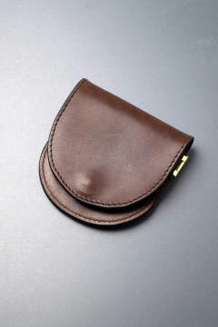 【18AW】レザーボヤージュコインケース [ブラウン] / LEATHER VOYAGE COINCASE [CORTESIA]