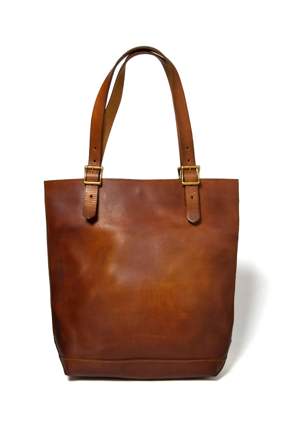 【18AW】レザートラベルトートバッグ - ハイト [マスタードキャメル] / LEATHER TRAVEL TOTE BAG - HEIGHT [MUSTARD CAMEL]