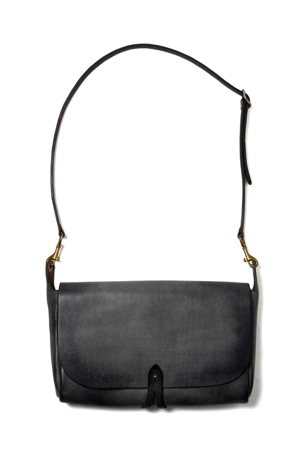 【18AW】レザー3WAYクラッチバッグ [グレー] / LEATHER 3WAY CLUTCH BAG [GRAY]