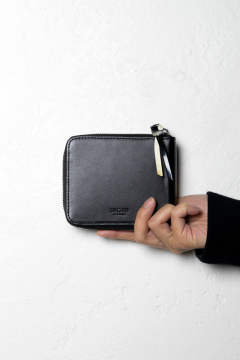 【19SS】WALLET SQUARE [Black] / CLWA_HP193