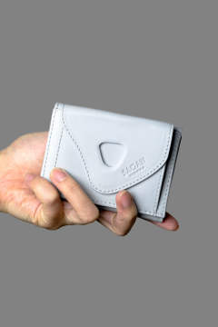 【19SS】WALLET TRIPTYCH [Light grey] / CLWN193