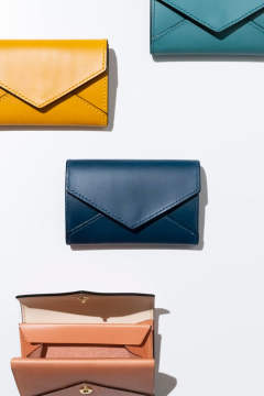 【19SS】ENVY CP - Card & coin case [BLUE] / エンヴィー シーピー - 封筒型カード&コインケース [ブルー]