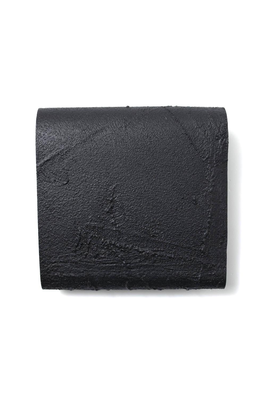 三つ折り財布 [黒い壁] / mw12-bk