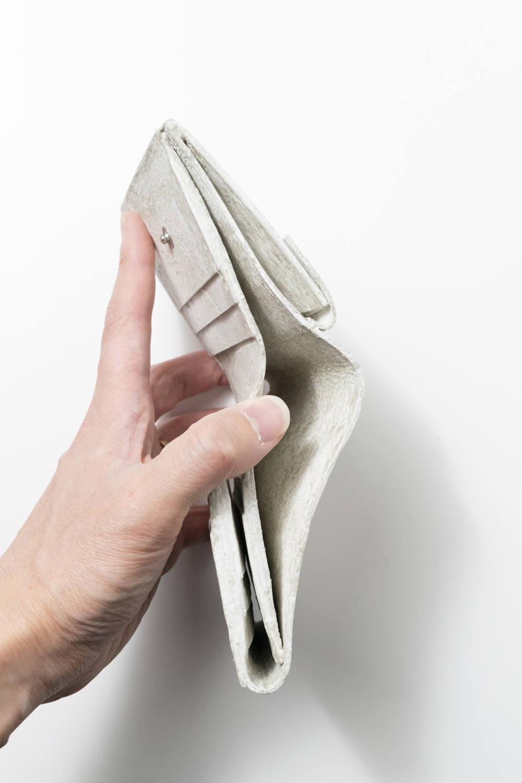 三つ折り財布 [ナチュラルホワイト] / mw12-nwh