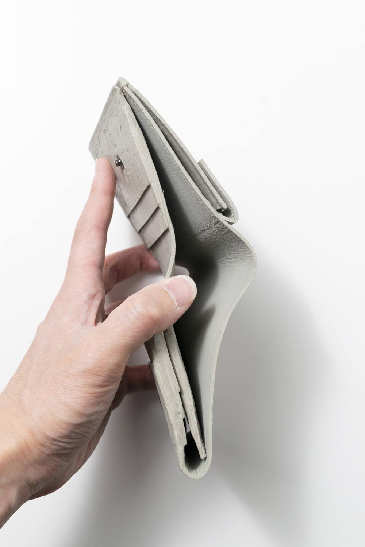 三つ折り財布 [グレー] / mw12-gr