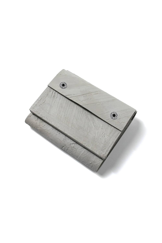 三つ折り豆財布 [グレー] / mw11-gr