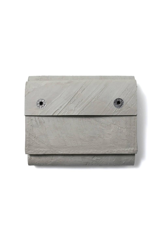 【お取り寄せ可能】三つ折り豆財布 [グレー] / mw11-gr