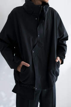【19AW】Cotton Shell [BLACK] - コットンシェル [ブラック] / OU03