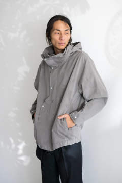 【19AW】Cotton Shell [GREY] - コットンシェル [グレー] / OU03