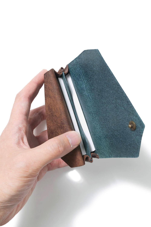 カードケース (ワイド) [ブルー] / Card Case W [BLUE]