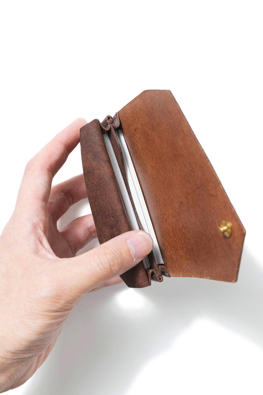 カードケース (ワイド) [ブラウン] / Card Case W [BROWN]