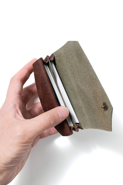 カードケース (ワイド) [カーキ] / Card Case W [KAHKI]