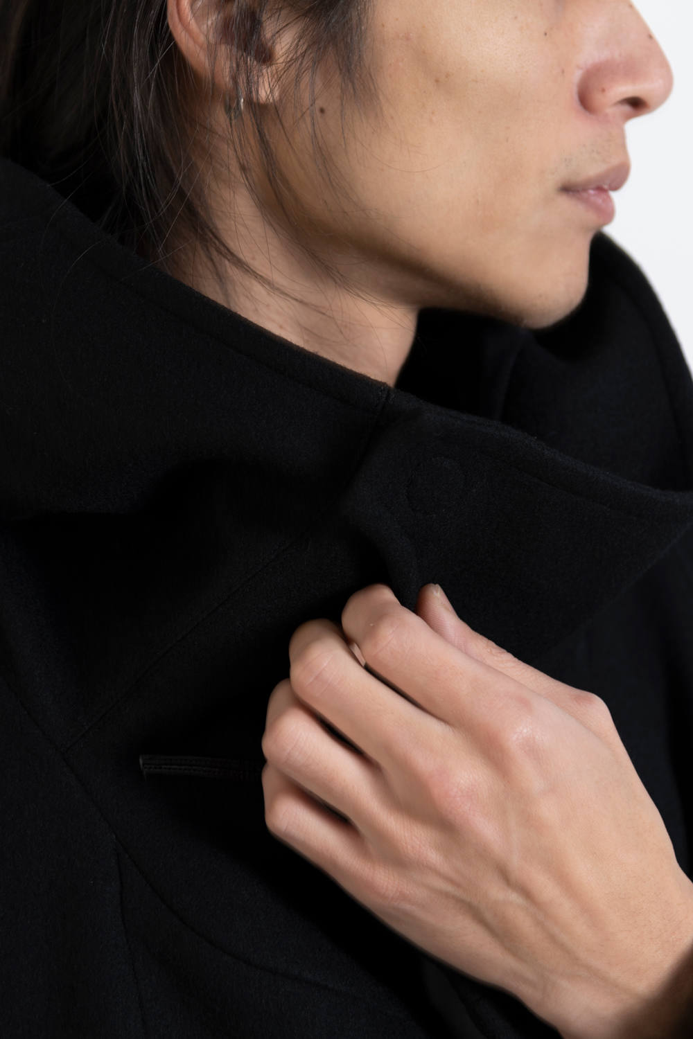 【19AW】Toggle Calm Coat [BLACK] - 寛トグル [ブラック] / OU06