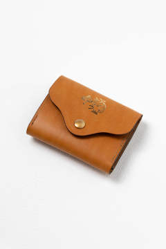 【19AW】レザーネイバルポケットウォレット [キャメル] / LEATHER NAVAL POCKET WALLET [MEAL]