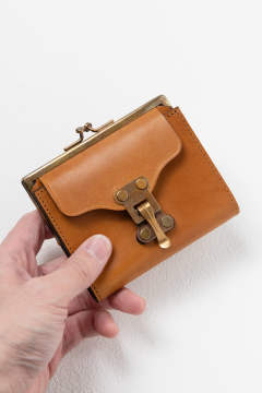 【19AW】レザーボヤージュパースウォレット [キャメル] / LEATHER VOYAGE PURSE WALLET [MEAL]