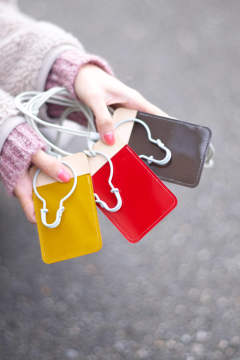 【19AW】PVL pass case COLOR [RED] / PVLパスケース [レッド]