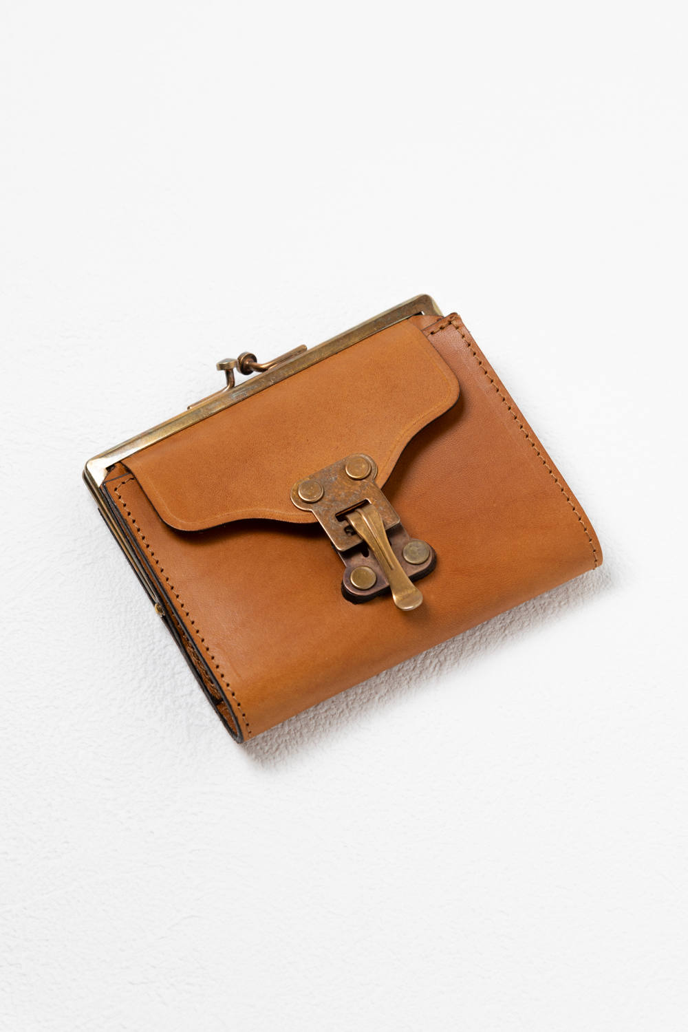 【20SS】レザーボヤージュパースウォレット [キャメル] / LEATHER VOYAGE PURSE WALLET [MEAL]