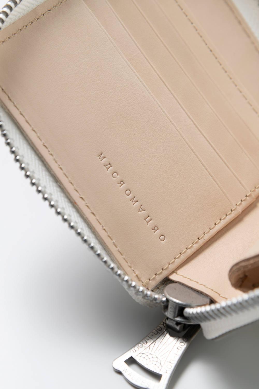 MULTI paint zip wallet / マルチペイントジップウォレット