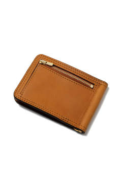【19AW】レザーボヤージュマネークリップ [キャメル] / LEATHER VOYAGE MONEY CLIP [MEAL]