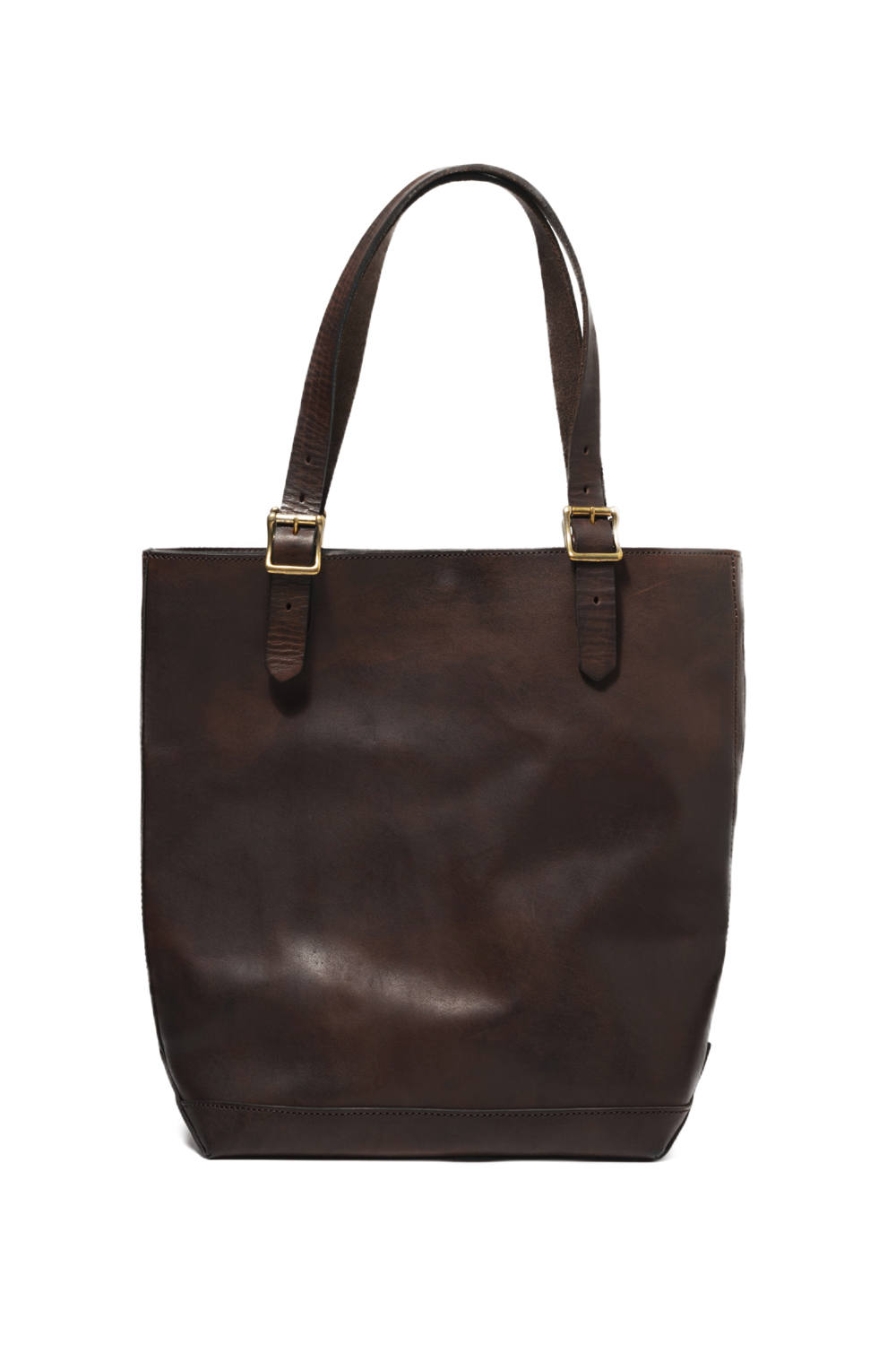 【19AW】レザートラベルトートバッグ - ハイト [ブラウン] / LEATHER TRAVEL TOTE BAG - HEIGHT [BROWN]