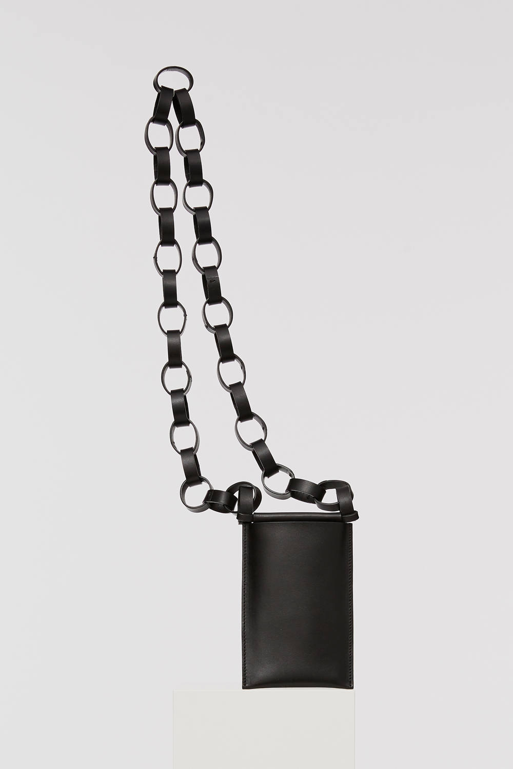 iPhone SLING with Leather Chain [BLACK] / アイフォンスリングウィズレザーチェーン [ブラック]