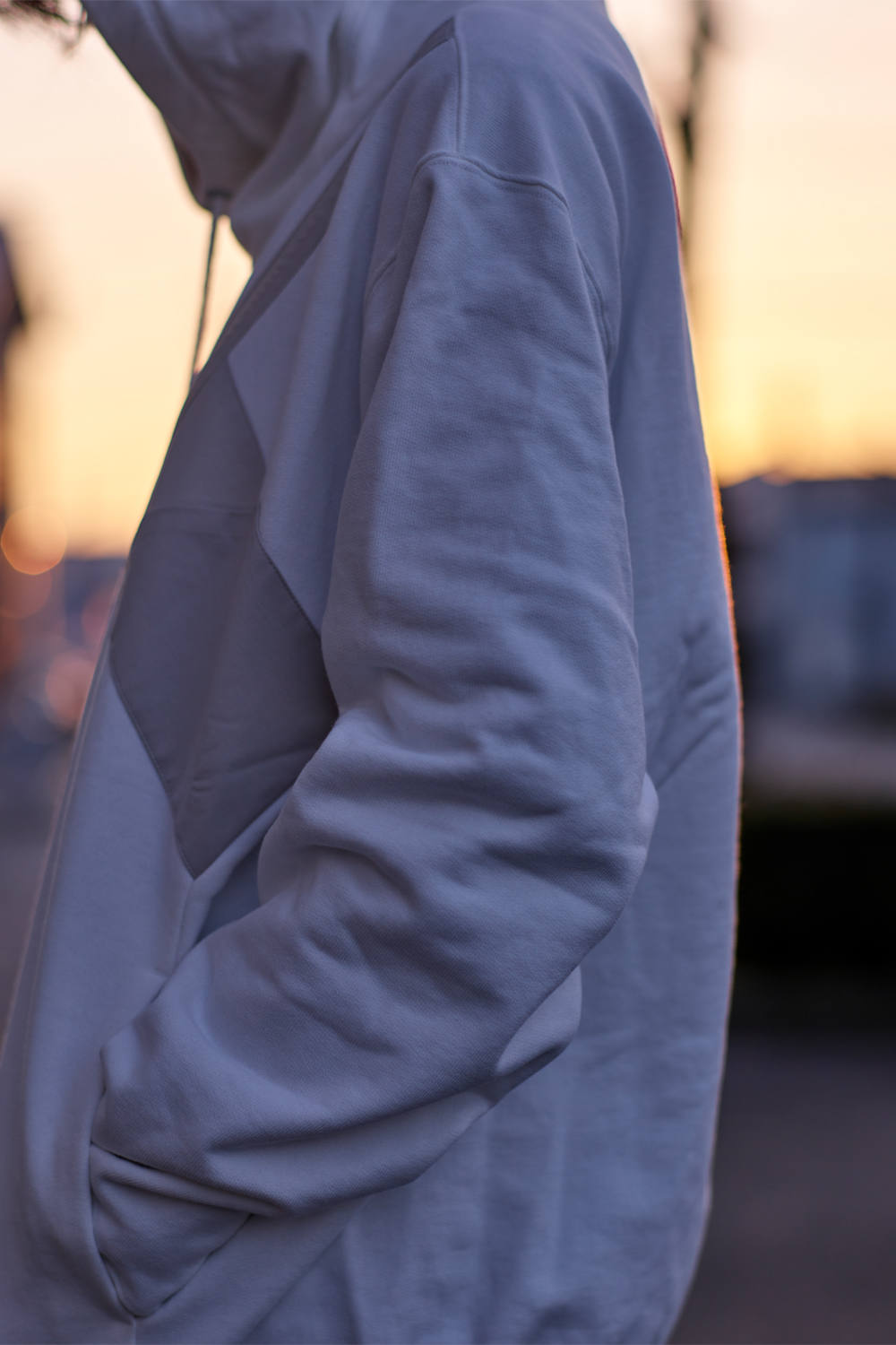 【20SS】Molding Parka [WHITE] - モルディングパーカー [ホワイト] / SS20HO01
