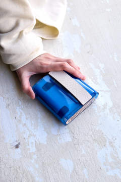 【20SS】PVL WALLET COLOR [BLUE] / PVLウォレット [ブルー]