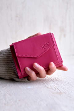 【20SS】WALLET TRIPTYCH [FUCSIA] / M_WN4