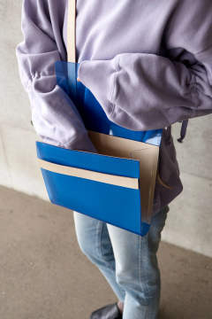 【20SS】PVL BAG MEDIUM COLOR [BLUE] / PVLバッグ ミディアム [ブルー]