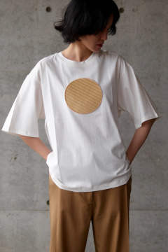 【20SS】CIRCLE T-SHIRT WITH CERCLE / サークルTシャツウィズサークル [OFF-WHITE WITH CIRCLE]