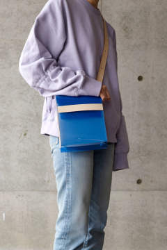 【20SS】PVL BAG SMALL COLOR [BLUE] / PVLバッグ スモール [ブルー]