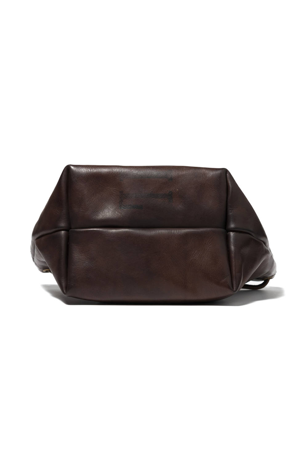 【20AW】レザーメールパースバッグ-スモール [ブラウン] / LEATHER MAIL PURSE BAG-SMALL [BROWN]